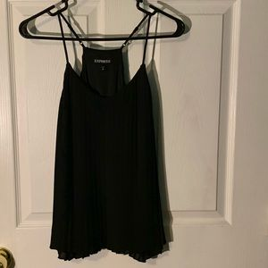 Express Pleated camisole in Black